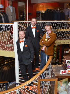 Christian Nauta, Søren Bach og David Krarup ejer afHerrernes Magasin i nørregade