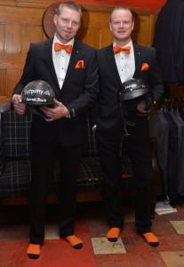 Søren Bach og Christian Nauta dresseret til ørkenrace - om de vil kunne gennemføre RFC 2014 i tilsvarende outfit skal vise sig.